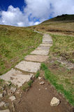 Path to the top (Pennine Way, Kinder Scout) Royalty Free Stock Photos