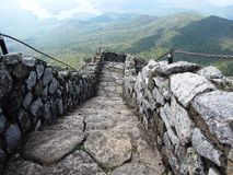 Path to the Top of Whiteface Royalty Free Stock Photo