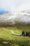 Path to Urkiola mountains Stock Photography