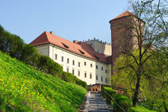 Path to Wawel castle Stock Photography