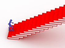 Path to wisdom. Image generated in 3D application Royalty Free Stock Image