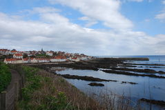 Path Towards Pittenweem Stock Photo