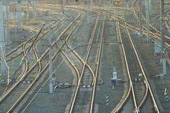 Path train station Stock Photography