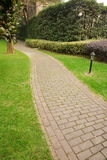 Path in Vertical composition. This path in a park.It's a very beautiful view Stock Photo