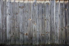 Path of wood fence home exterior Stock Photo
