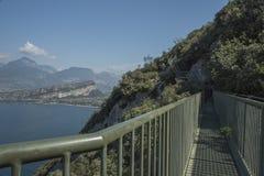 Path from 'Torbole' to 'Storm', Italy, Lake Garda, Royalty Free Stock Photo