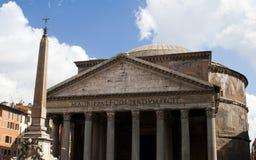 Patheon在罗马,意大利 库存照片