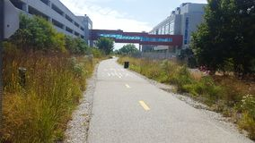 The Pathfinder. Searle Parkway Walk Path Royalty Free Stock Image