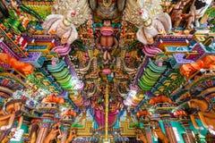 Pathirakali阿曼寺庙,亭可马里 库存图片