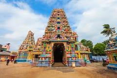 Pathirakali Amman Temple, Trincomalee. Pathirakali Amman Temple, Pathrakali Ambal Kovil or the Kali Kovil Trincomalee is a Hindu temple dedicated to the goddess Royalty Free Stock Image