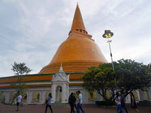 Pathommachedi ένα stupa στην Ταϊλάνδη Στοκ φωτογραφίες με δικαίωμα ελεύθερης χρήσης