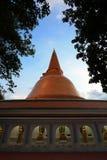 Pathommachedi de Phra, le stupa le plus grand au monde Photos stock