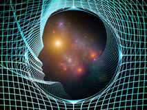 Paths of Intelligent Design Stock Image