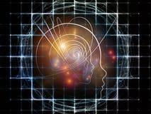 Paths of Intelligent Design stock illustration