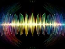 Paths of Oscillation Vector Illustration