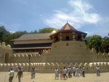Paththirippuwa di maligawa di dalada di Sri fotografia stock libera da diritti