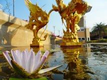 Pathum thani landmark. Royalty Free Stock Images