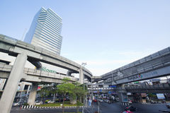 Pathumwan junction Stock Image