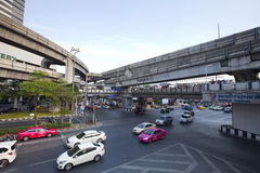 Pathumwan junction Stock Photography