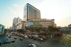 Pathumwan junction Royalty Free Stock Photos
