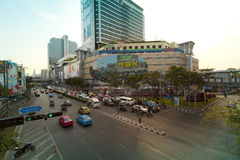 Pathumwan junction Royalty Free Stock Photo