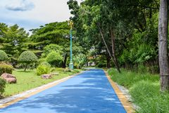 Pathway in a beautiful park Stock Photography
