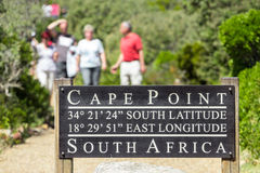 Cape point pathway Royalty Free Stock Images