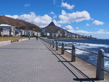 Pathway in Cape Town, South Africa. Royalty Free Stock Image