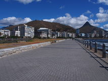 Pathway in Cape Town, South Africa. royalty free stock photography