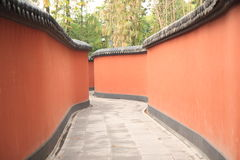 Pathway in Chengdu China Royalty Free Stock Photo