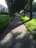 Pathway in city Stock Photography