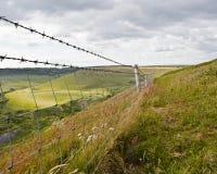 Pathway in Dorset Stock Photos
