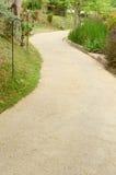 Pathway in the garden Stock Image