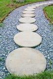 Pathway in garden Stock Photography
