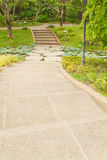 Pathway in garden Royalty Free Stock Photography