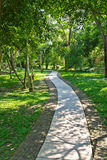 Pathway in garden Stock Images