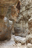 Pathway at Imbros Gorge. Crete. Greece Royalty Free Stock Photo