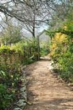 Pathway that leads to a garden Royalty Free Stock Photography