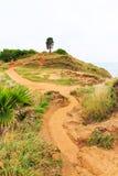 Pathway in mountain Stock Photos