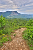 Pathway in mountains Royalty Free Stock Images