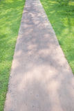 ' the pathway ' ogrodowa Fotografia Royalty Free