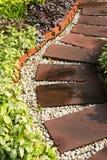 ' the pathway ' ogrodowa Obraz Stock