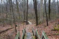 Pathway at Old Woman Park. Pathway at Old Woman Metro Park Royalty Free Stock Photos