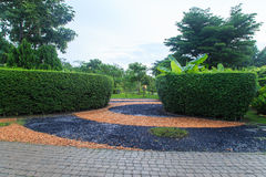 Pathway in the park. Bangkok, Thailand Royalty Free Stock Image