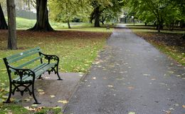 Pathway from park Royalty Free Stock Image