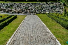 Pathway in park Royalty Free Stock Photography