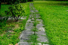 Pathway in park Stock Photography