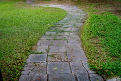Pathway in park Royalty Free Stock Images