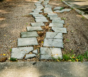 Pathway in park Royalty Free Stock Image