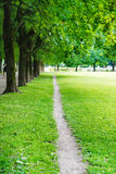 Pathway in park in Oslo Stock Photography